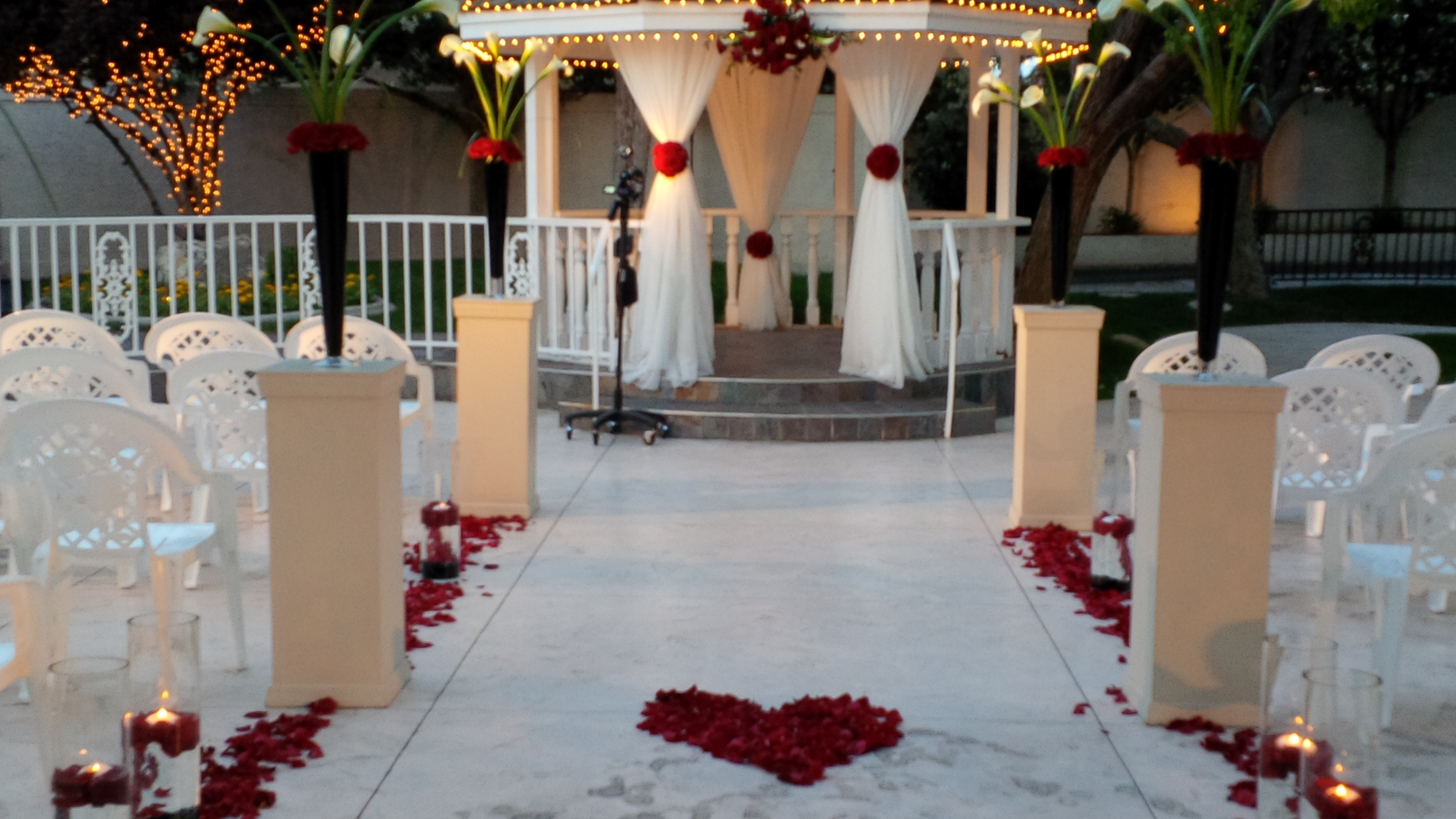 Las Vegas Sunset Weddings Home Petals Flowers And Events Inc